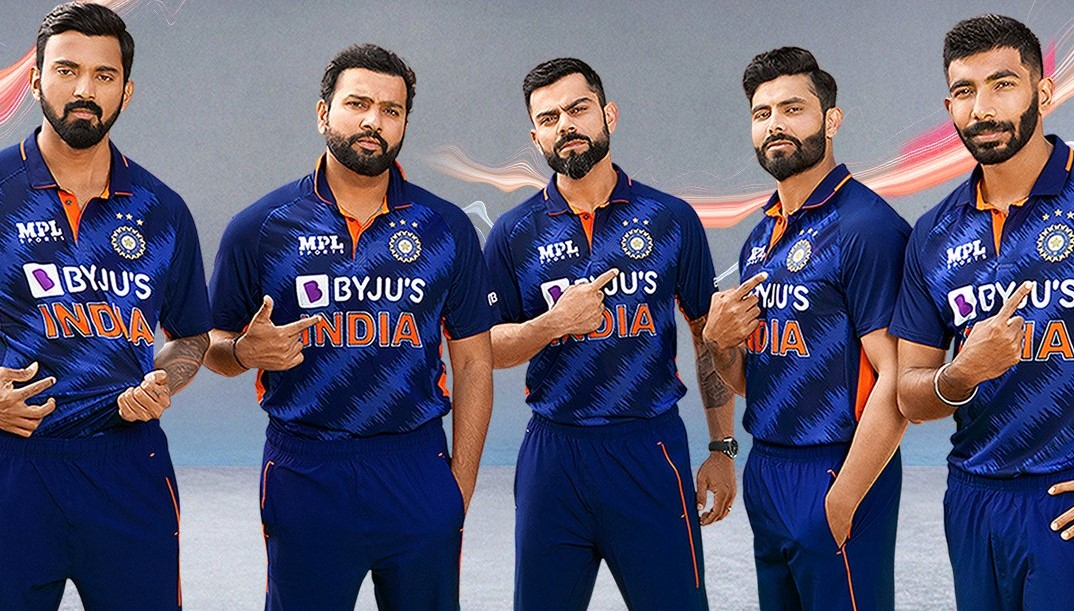 Team India's new jersey | BCCI/Twitter