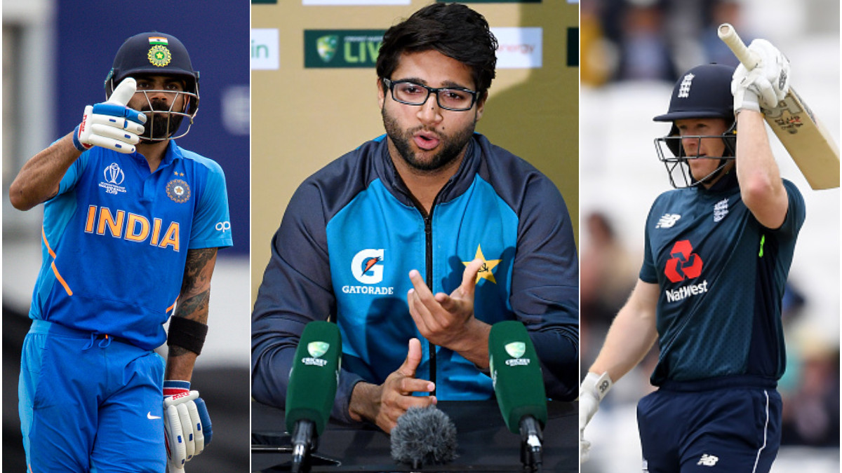 Imam talks about Pakistan's shortcomings and talking to Morgan and Kohli on why their players are successful