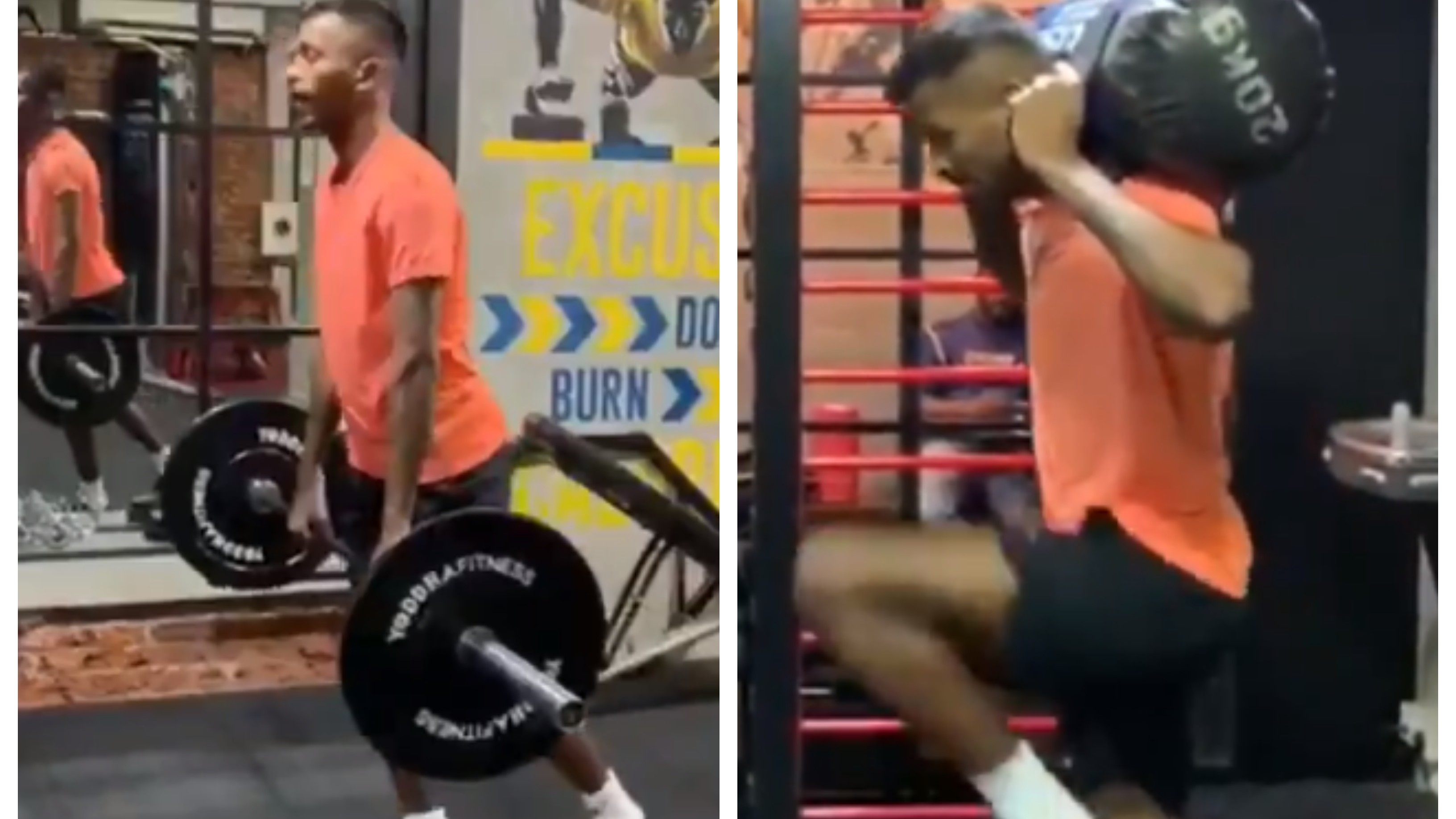 CWC 2019: WATCH – Hardik Pandya sweats it out in the gym ahead of his maiden World Cup appearance