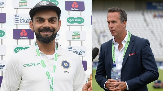 ENG v IND 2018: Michael Vaughan hopeful of another century from Virat Kohli in the upcoming Test