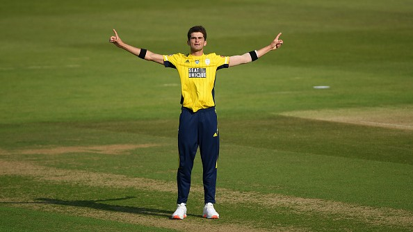 WATCH: Hampshire's Shaheen Afridi claims 4 wickets in 4 balls to stun Middlesex