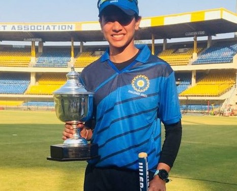 Smriti Mandhana shines in the challenger Trophy after making some technical changes