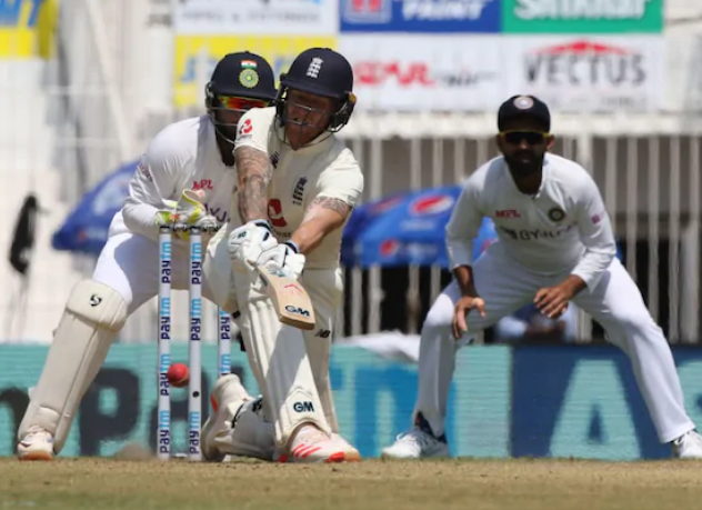 Ben Stokes scored 82 in the first innings of the first Test in Chennai | BCCI