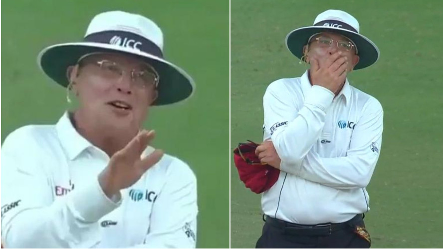 WATCH: Ian Gould says sorry to Jason Holder after an error in judgement