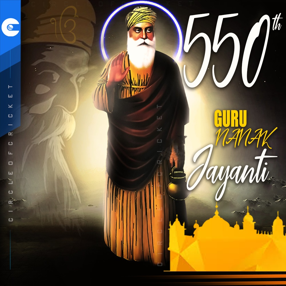 Guru Nanak Dev was born in 1469 in present day Pakistan