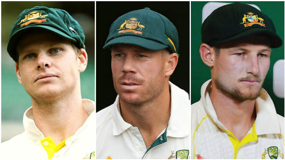 Cricketers union push for Smith, Warner and Bancroft bans to be lifted immediately