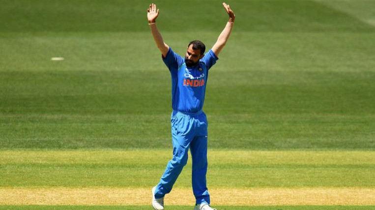 NZ v IND 2019 : Stats - Mohammad Shami becomes the fastest Indian to reach 100 ODI wickets