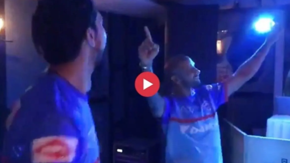IPL 2019: WATCH – Dhawan, Ishant burn the dance floor  after DC's thumping win over SRH