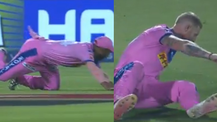 IPL 2019: WATCH- Stuart Binny and Ben Stokes left embarrassed after fielding blunder