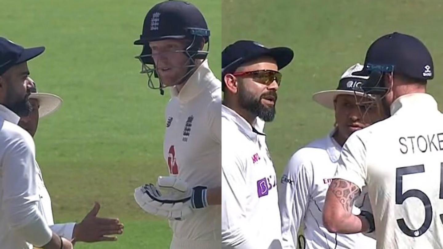 IND v ENG 2021: WATCH – Virat Kohli, Ben Stokes engage in a verbal spat on Day 1 at Ahmedabad