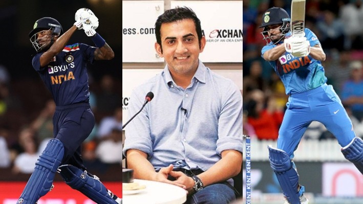 AUS V IND 2020-21: Gambhir backs Hardik over Pandey at no.6 in Indian playing XI