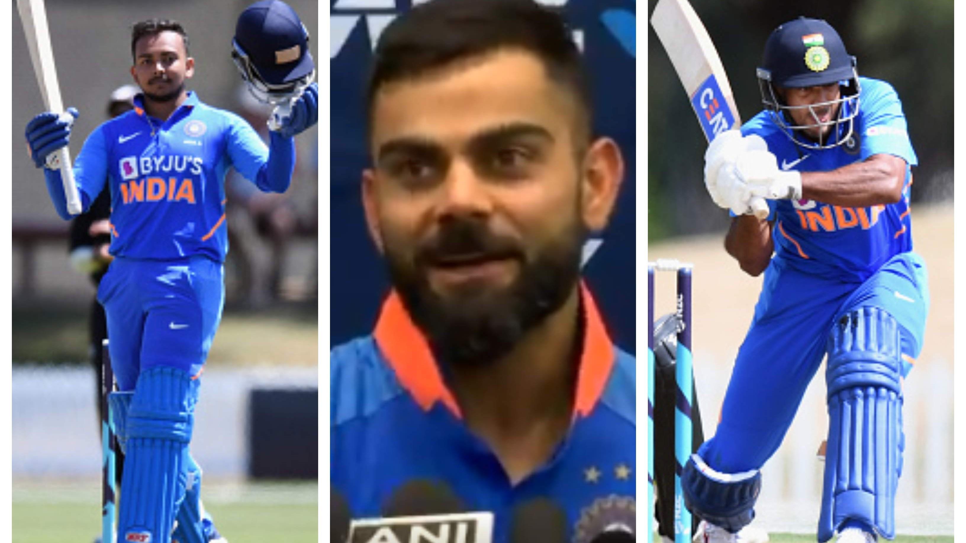 NZ v IND 2020: Shaw, Agarwal to make ODI debuts as openers in Hamilton ODI, confirms Virat Kohli