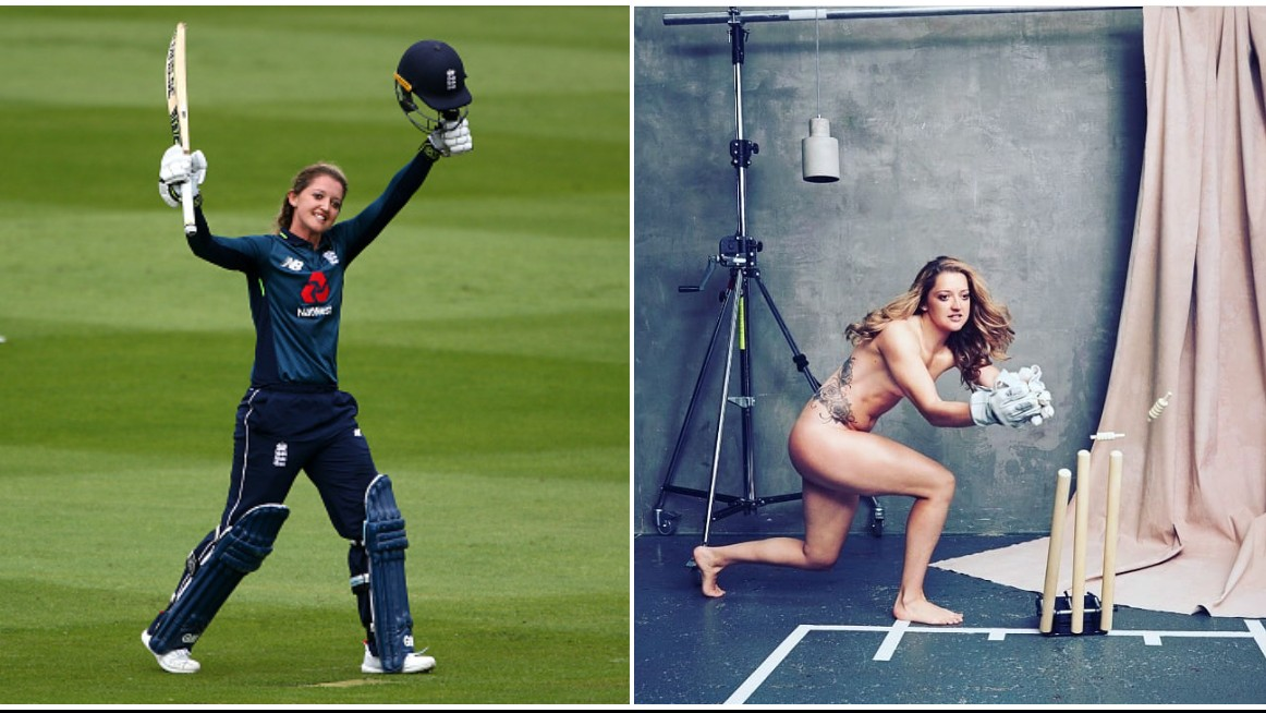 England women's cricketer Sarah Taylor bares it all for a social cause