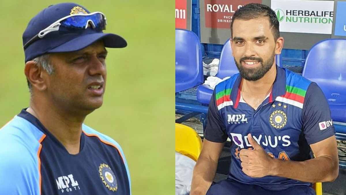 SL v IND 2021: He told me I'm good enough to bat at 7- Deepak Chahar on Dravid's belief in his batting
