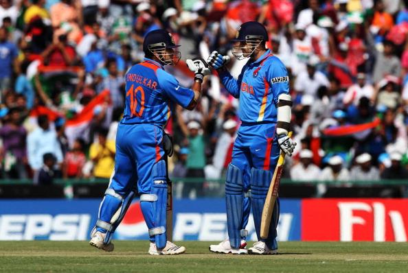 Sehwag and Tendulkar got India off to a good start | Getty