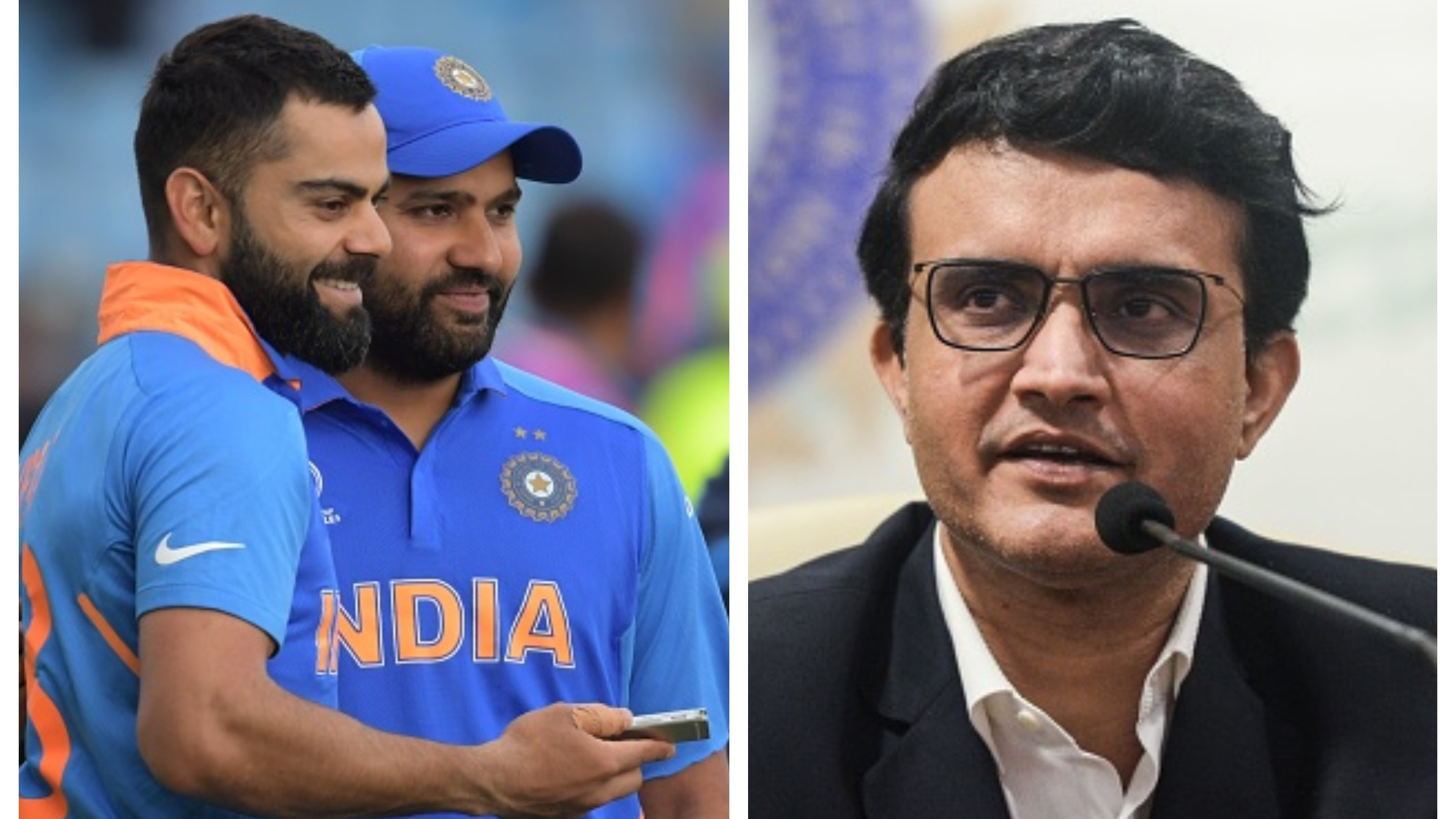 Sourav Ganguly dismisses speculations over
