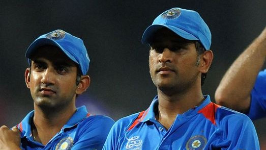 Gautam Gambhir clears that there is no tiff between him and MS Dhoni
