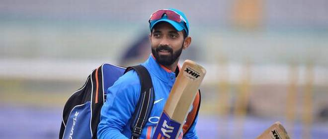 Ajinkya Rahane met underprivileged children who asked him questions about his life | AFP