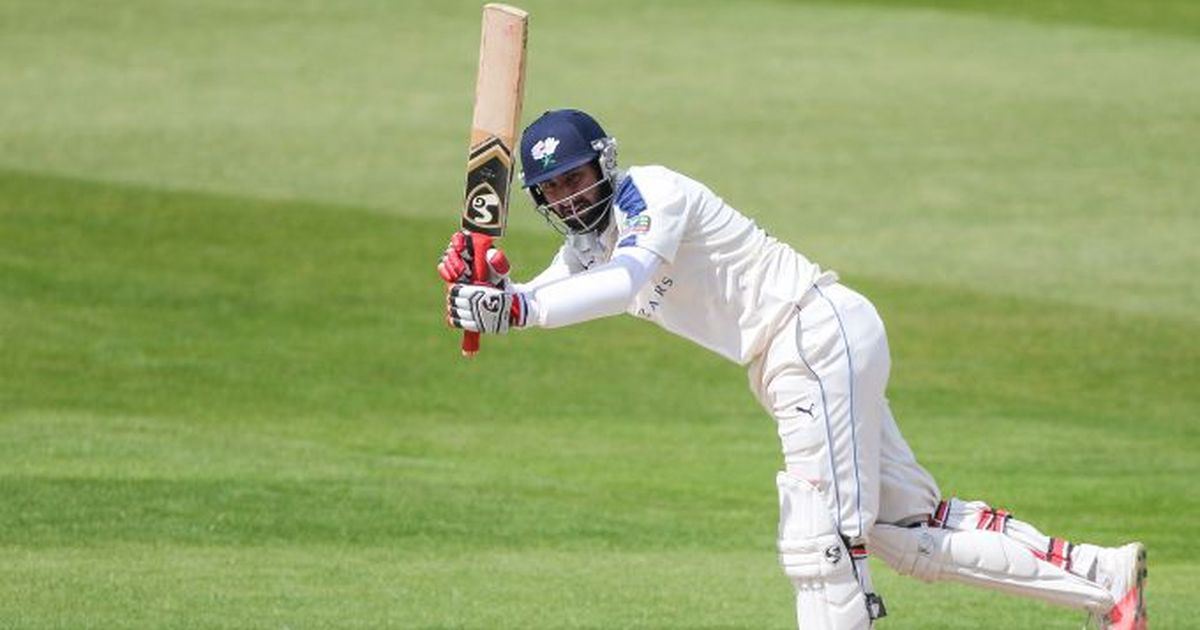 Cheteshwar Pujara needed almost 73 minutes to score his first runs against Surrey | Yorkshire website