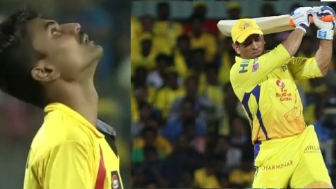 IPL 2018: Watch – A fan touches feet of MS Dhoni as he makes way into the middle