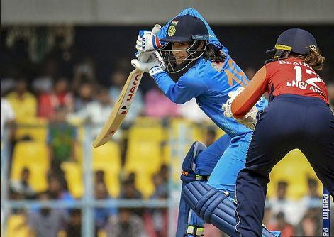 Smriti Mandhana scored 58 in the 3rd T20I