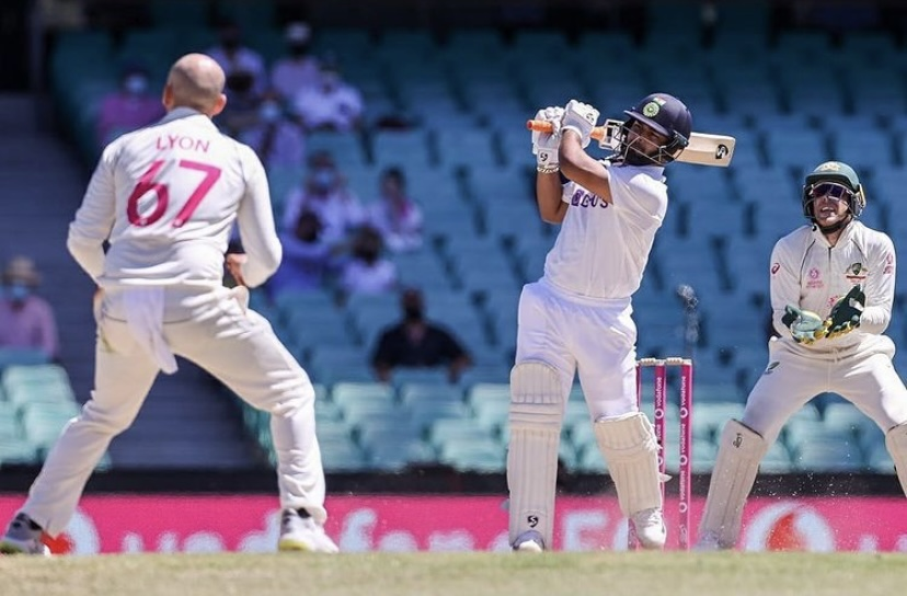 Rishabh Pant scored 97 runs at SCG | Rishabh Pant Twitter