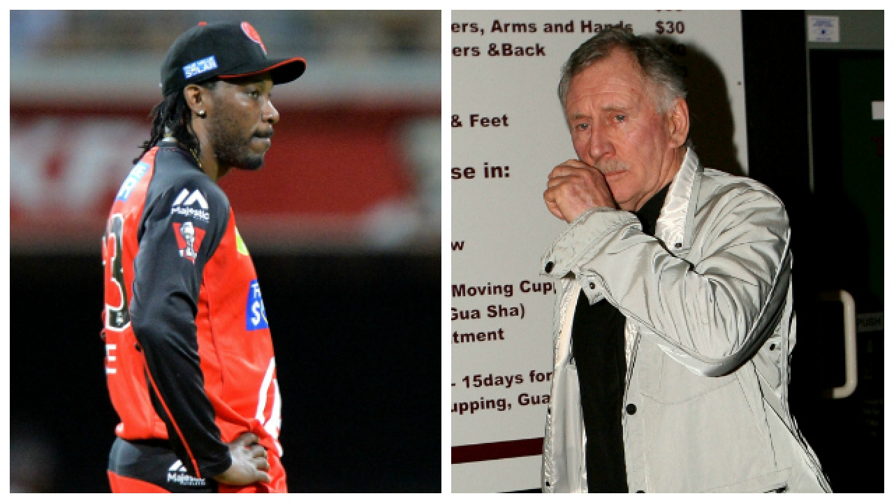 Chris Gayle takes a derisive dig at Ian Chappell, for his comment on him in BBL 2016