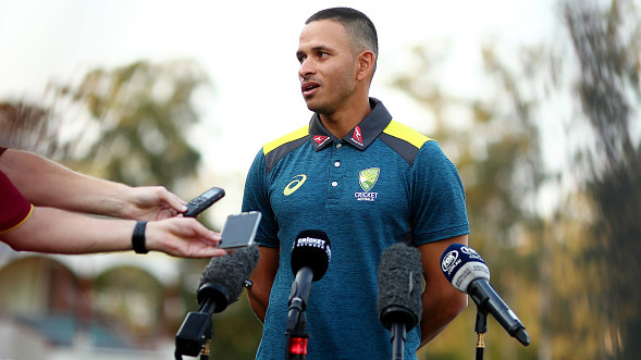 Usman Khawaja not bothered by