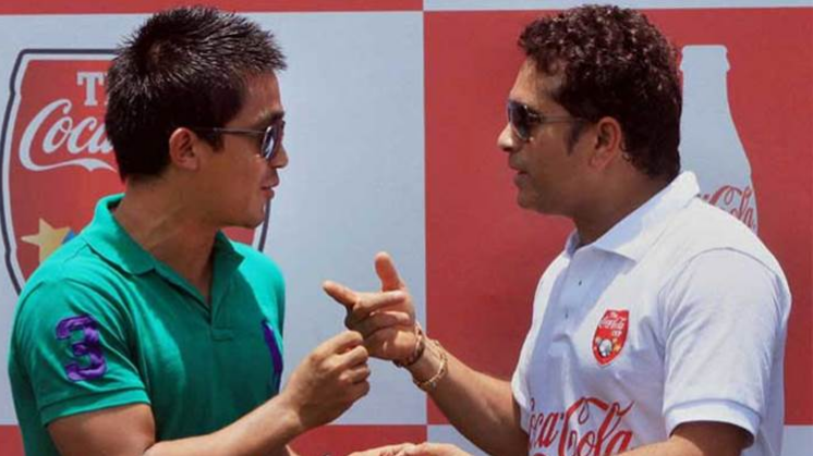 Sachin Tendulkar backs Sunil Chhetri's plea to support Indian Football team