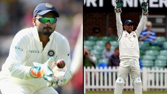 Deep Dasgupta feels Rishabh Pant can learn a lot from Dhoni, the wicketkeeper and is no.1 choice in Tests