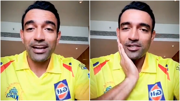 Robin Uthappa might open with Faf du Plessis for CSK in IPL 2021 | Twitter