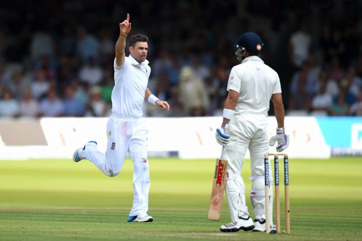 James Anderson has an excellent record against India. (Getty)