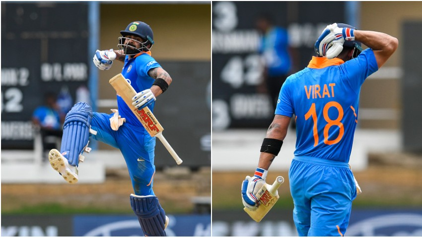 Virat Kohli scored his 42nd ODI ton | Getty Images