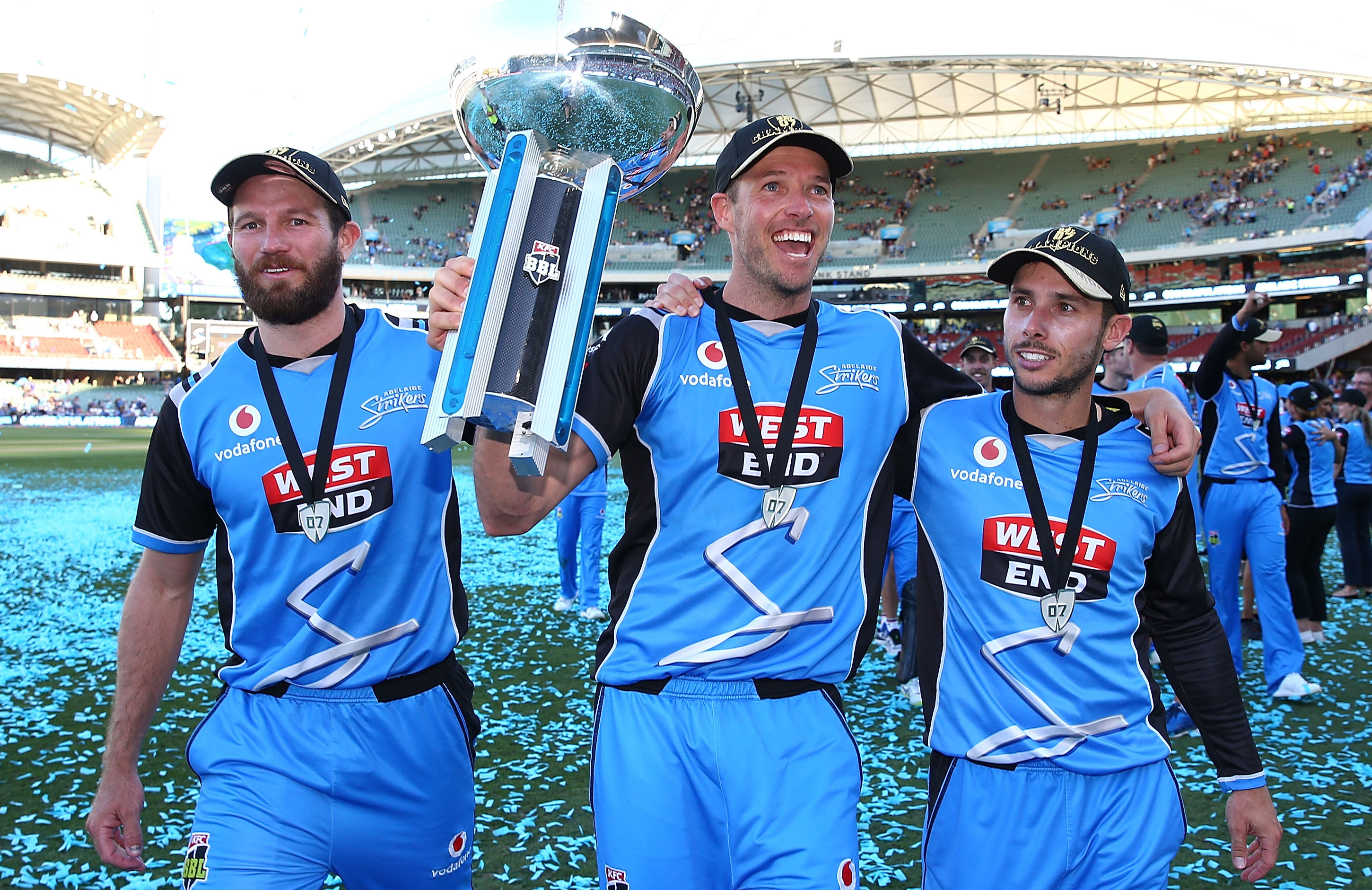 Adelaide Strikers clinched the title last season and thus start off as the defending champions | Getty