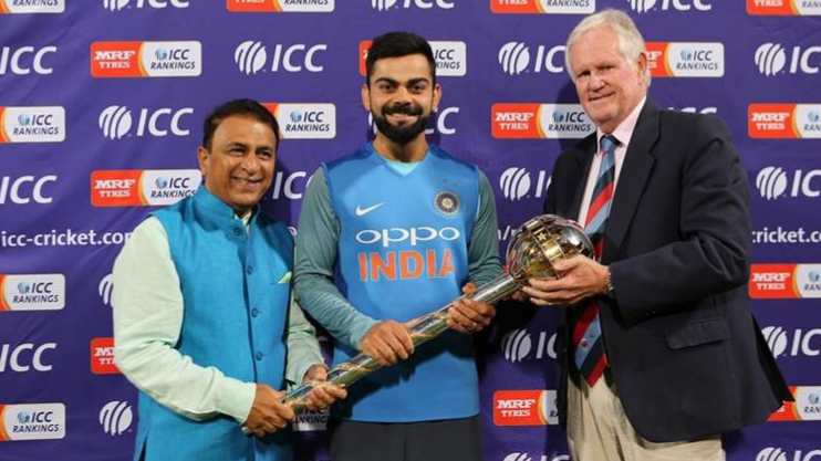 SA v IND 2018: Watch – Virat Kohli's special message for Indian fans after receiving the ICC Test Championship Mace