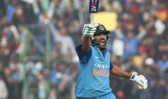 Rohit Sharma became the only batsman with 3 double centuries in ODI cricket   IANS