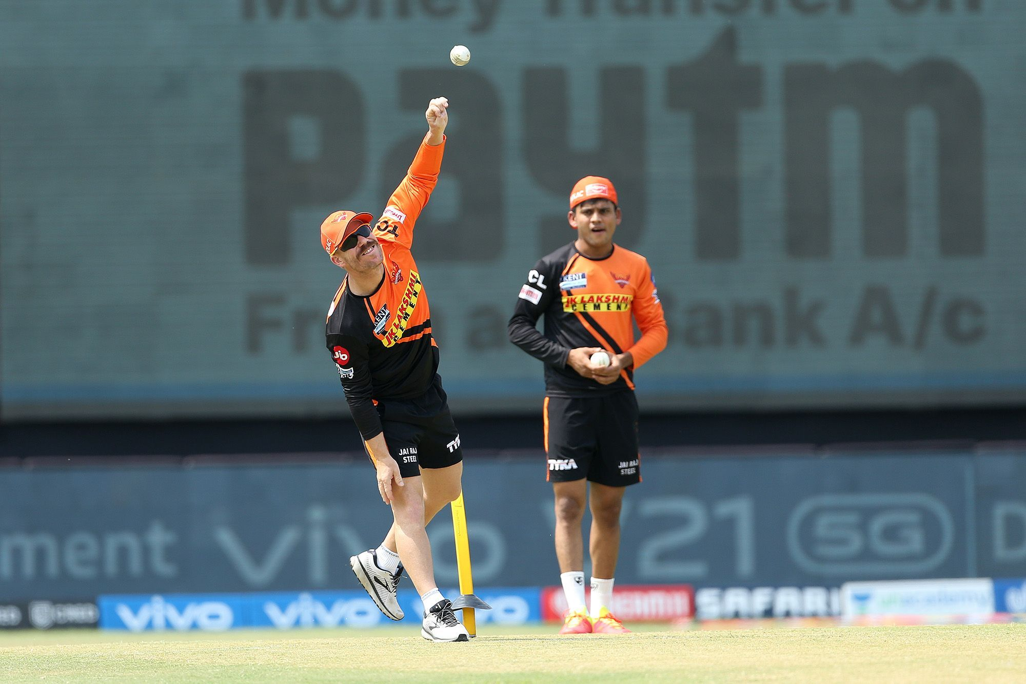 David Warner didn't featured in the encounter against RR
