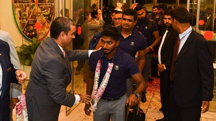 PAK v SL 2019: Sri Lanka team arrives in Pakistan amid presidential level security