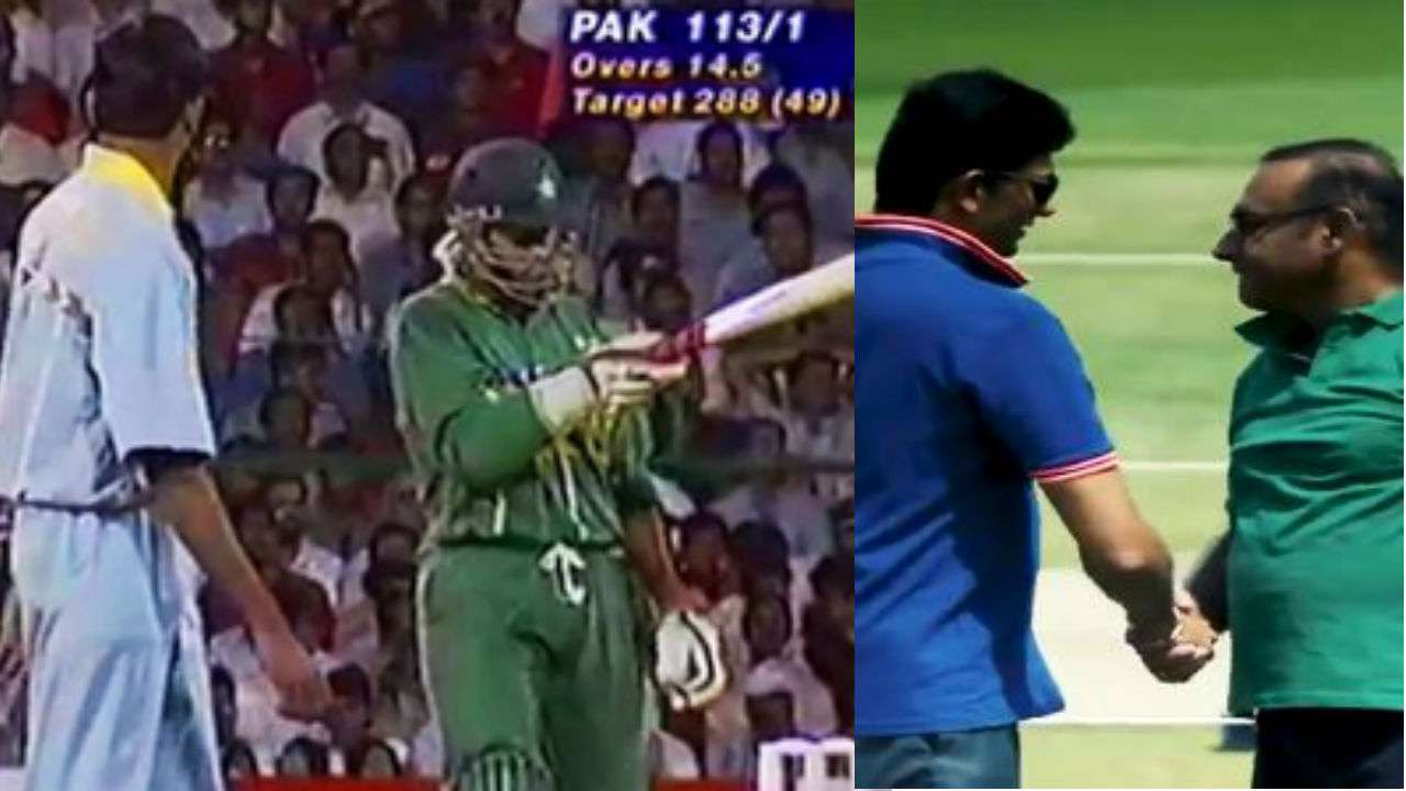 Sohail and Prasad relived and reenacted the infamous moment from 22 years ago