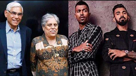 KL Rahul-Hardik Pandya disciplinary inquiry delayed due to Vinod Rai and Diana Edulji's discord