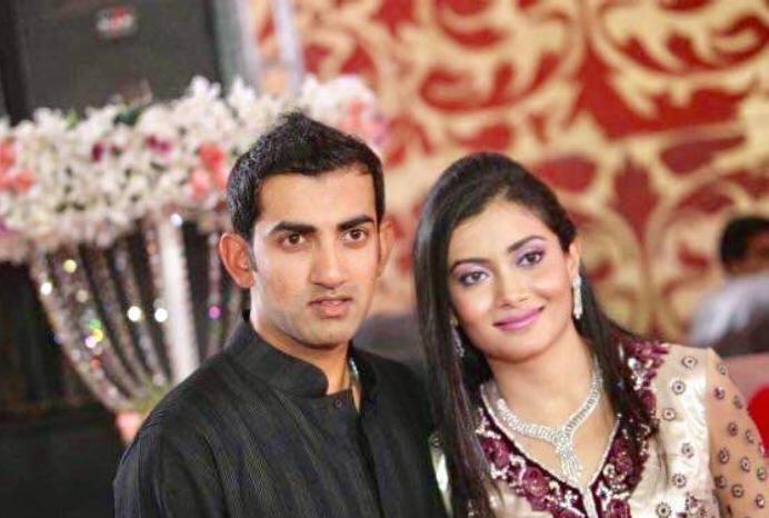 Gautam Gambhir with his sister | Twitter