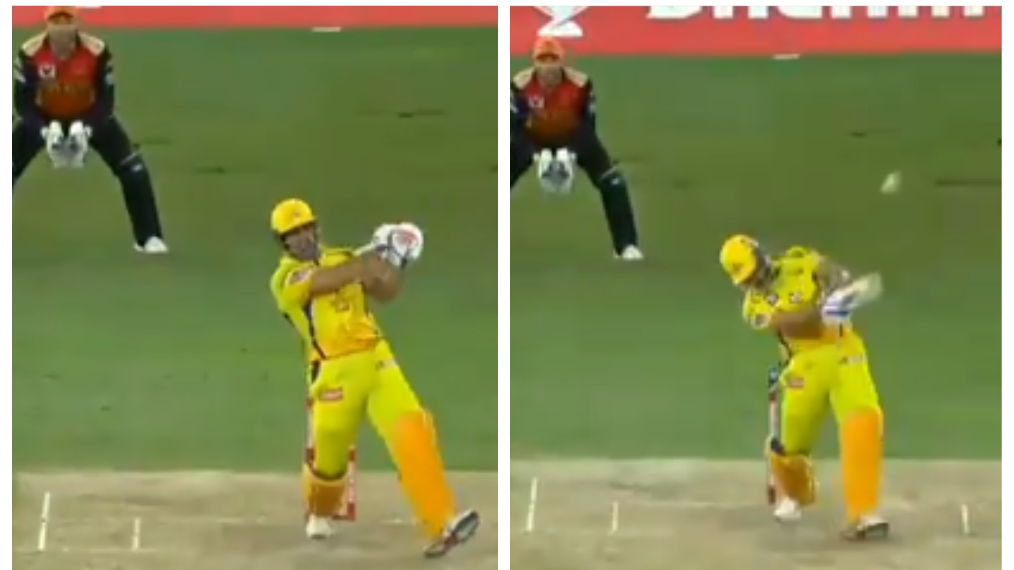 IPL 2020: WATCH – MS Dhoni shows his brutal power, smashes 102m long six off T Natarajan