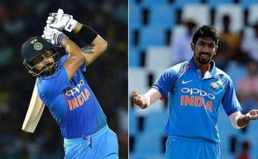 Virat Kohli and Jasprit Bumrah remain no.1 in ICC ODI batsmen and bowlers rankings respectively