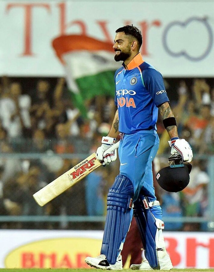 Virat Kohli is the fastest batsman to reach the milestone, breaking the records of Sachin Tendulkar | Twitter