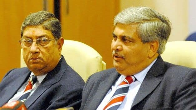 'Anti-Indian' Shashank Manohar running away after severely damaging Indian cricket: N Srinivasan
