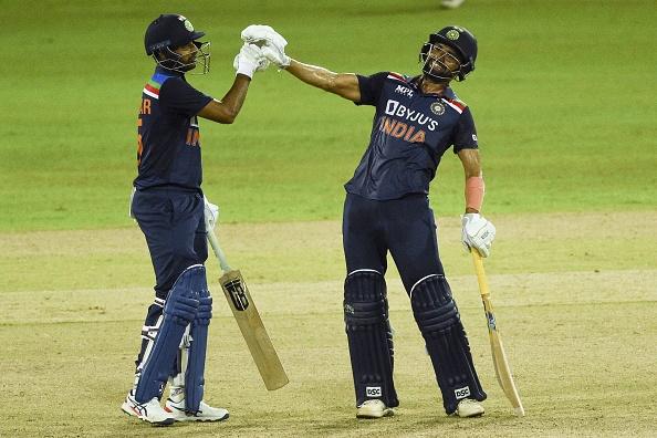 Deepak Chahar scored unbeaten 69 off 82 balls to take India home in the second ODI against Sri Lanka | Getty