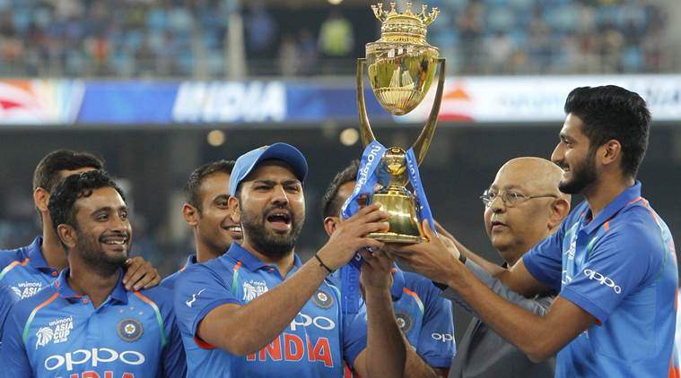 Rohit Sharma led Team India became the Asia Cup champions for the 7th time | Getty