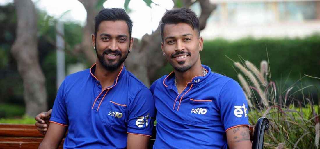 We might finally see the Pandya brothers - Krunal and Hardik playing for the Indian team together | Twitter