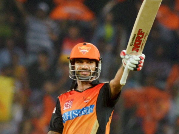 Shikhar Dhawan has captained the SRH franchise