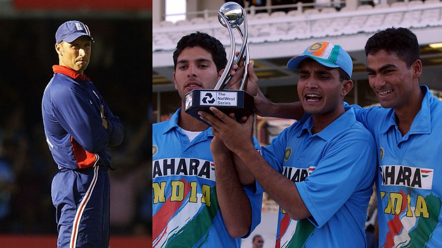 Nasser Hussain sarcastically thanks Yuvraj Singh for sharing photos of India's NatWest 2002 victory